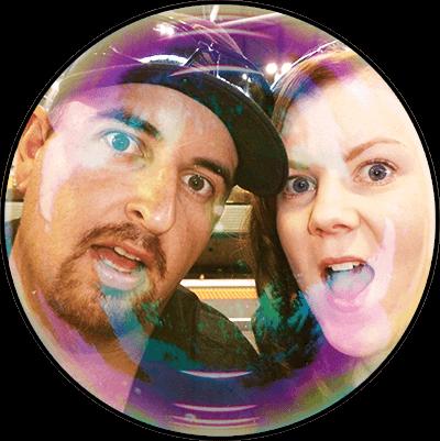 Rob & Jacinta (Glow Sticks MoFo's)
